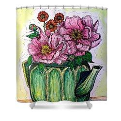 Summer Kitchen Shower Curtain