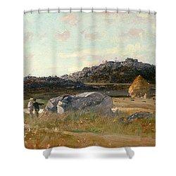 Summer Landscape Shower Curtain by Luigi Loir