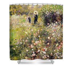 Summer Landscape Shower Curtain by Pierre Auguste Renoir