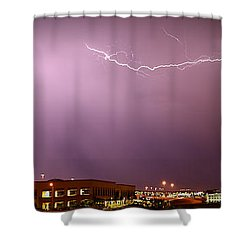 Summer Lightning Shower Curtain