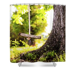 Shower Curtain featuring the photograph Summer Memories On The Farm by Shelby Young
