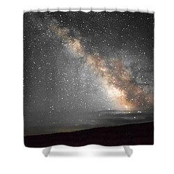 Summer Night Light Shower Curtain