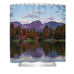 Summer On Sprague Lake Shower Curtain