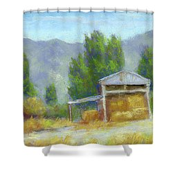Summer On The Ranch Shower Curtain