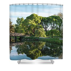 Summer Park Shower Curtain