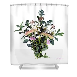 Summer Perrenials Shower Curtain