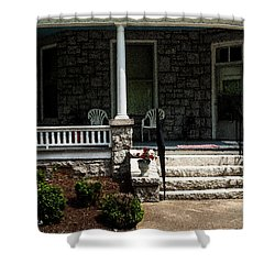 Summer Porch Shower Curtain