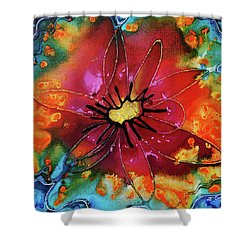 Summer Queen Shower Curtain