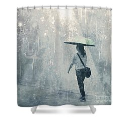Shower Curtain featuring the photograph Summer Rain by LemonArt Photography