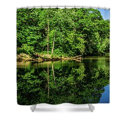 Summer Reflections Shower Curtain