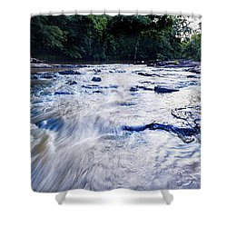 Summer River Shower Curtain
