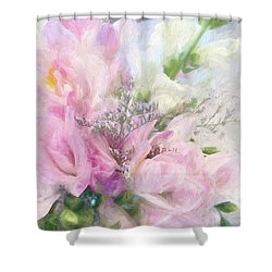 Summer Roses Shower Curtain