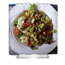 Summer Salad Shower Curtain
