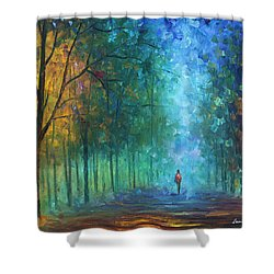 Summer Scent Shower Curtain by Leonid Afremov