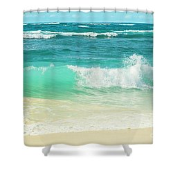 Shower Curtain featuring the photograph Summer Sea by Sharon Mau