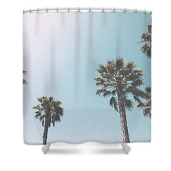 Summer Sky- By Linda Woods Shower Curtain by Linda Woods