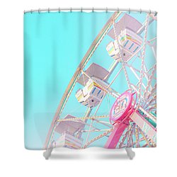 Shower Curtain featuring the photograph Summer Sky by Cindy Garber Iverson