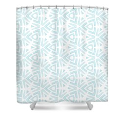 Summer Splash- Pattern Art By Linda Woods Shower Curtain