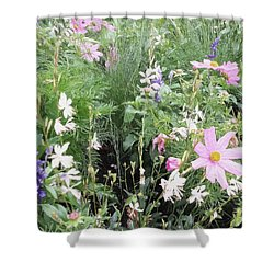 Summer Spray Shower Curtain