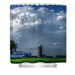 Summer Storm Clouds Shower Curtain