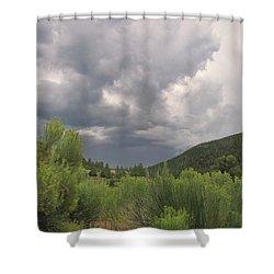 Summer Storm Shower Curtain
