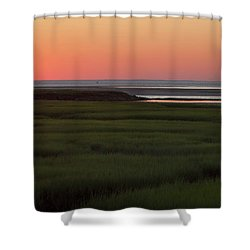 Summer Sun Down Shower Curtain