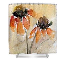 Summer Sunflowers Shower Curtain