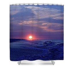 Summer Sunrise I I Shower Curtain