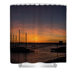 Summer Sunrise In Bar Harbor Shower Curtain