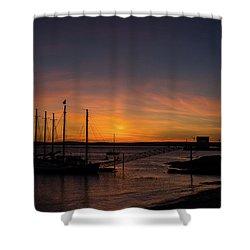 Summer Sunrise In Bar Harbor Shower Curtain