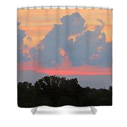 Summer Sunset In Missouri Shower Curtain