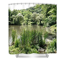 Summer Swamp Shower Curtain