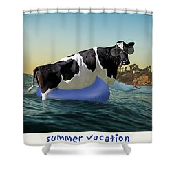 Shower Curtain featuring the photograph Summer Vacation by James Bethanis