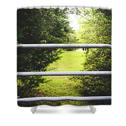 Shower Curtain featuring the photograph Summer Vibes On The Farm by Shelby Young