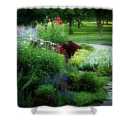 Summer View Shower Curtain