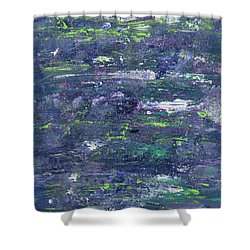 Summer Water Garden Shower Curtain