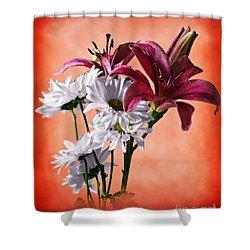 Summer Wild Flowers  Shower Curtain