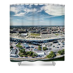 Summerfest Panorama Shower Curtain