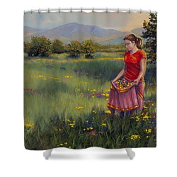 Summers Bounty Shower Curtain