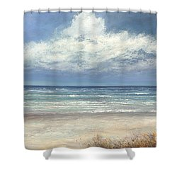 Summer's Day Shower Curtain by Valerie Travers