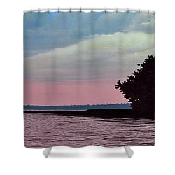 Summers Eve Shower Curtain by Kenneth M  Kirsch