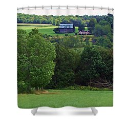 Summer's Last Hurrah Shower Curtain