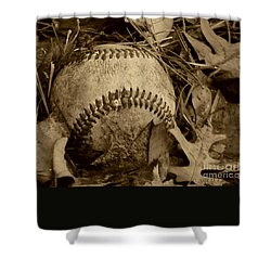Summer's Lost Youth Square Photo Shower Curtain