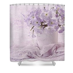 Summer's Pleasure  Shower Curtain by Sandra Foster