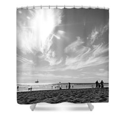 Summer's Sky Shower Curtain
