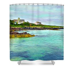 Summertime, Isle Of Iona Shower Curtain