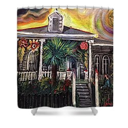 Summertime New Orleans Shower Curtain