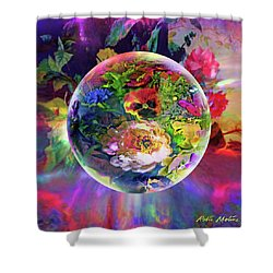 Summertime Passing Shower Curtain
