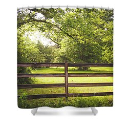 Shower Curtain featuring the photograph Summertime Sunshine by Shelby Young