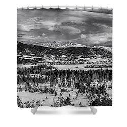 Summit County  Shower Curtain